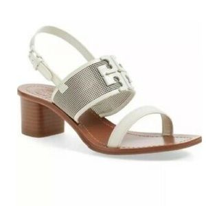 Tory Burch Lowell 2 45mm Ivory Sandals